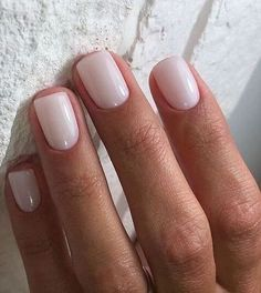 Nageldesign - Nail Art - Nagellack - Nail Polish - Nailart - Nails Cate Hot Trends in Women's Wigs a Opi Nails, Nude Nails, Neutral Gel Nails, Simple Gel Nails, Cute Shellac Nails, Summer Shellac Nails, Simple Elegant Nails, Bio Gel Nails, Acrylic Nails
