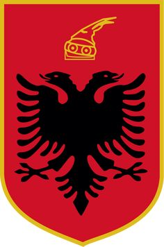 Albanian coat of arms | Coat of arms of Albania
