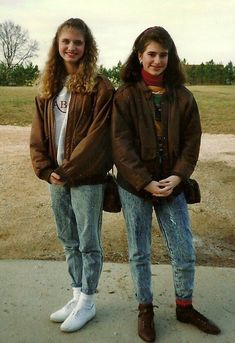 This is a realistic picture of what we looked like in high school in the 80s.