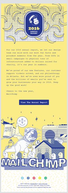 Real hot email from @mailchimp