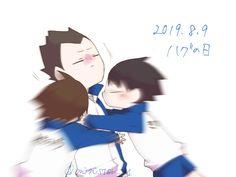 Haikyuu Funny, Kageyama Tobio, Haikyuu Yaoi, Haikyuu Ships, Anime Chibi, Chibi Sketch, Akira, Fan Art, Animation