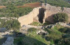 The North West Corner - Kritinia Castle In Rhodes