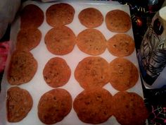 crispy chocolate chip cookies 12/22/12