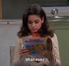 That show foundonweheartit mood fashion style chic happy vintage whatever milakunis jackie 70 chic quotes jackie owns that show Tv Quotes, Mood Quotes, 70 Show, Current Mood, Statements, Quote Aesthetic, Aesthetic Vintage, Mood Pics, Reaction Pictures