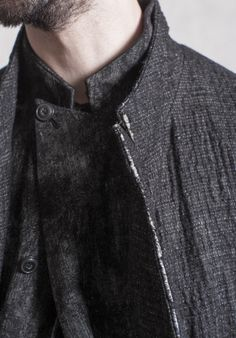 fashion we like / Jacket / Buttons / Angled / Asymetric / Used Look / at The Well