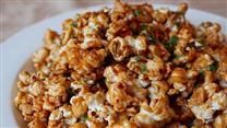 A spicy, sweet, and salty popcorn snack is inspired by the famous Thai dish, Pad Thai.