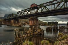 Kaministiquia River Swing Bridge in Thunder Bay, Ontario Camping Places, Places To Travel, Places To See, Thunder Bay Canada, Over The Bridge, Rocky Shore, Fort William, Nature View, World Pictures