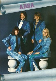 ABBA.  It's super-dated now, but I had five or six of the LPs, and got to really like their music.