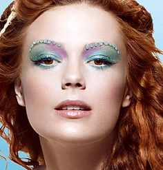 mermaid or eyebrows for bollywood/belly dancers?