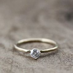 Moissanite not diamond, $220 this is just precious. With a wedding band with diamonds all around mmmmm perfection