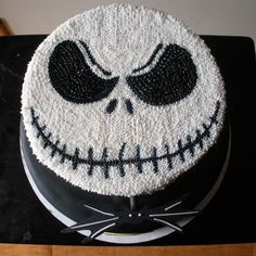 Nightmare Before Christmas - Jack Skellington cake