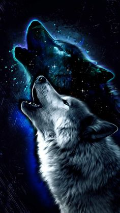 Wolf Art iPhone Wallpaper 1 - iPhone Wallpapers