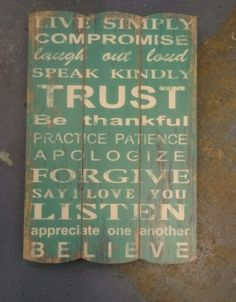 Live Simply Wooden Sign £17.99