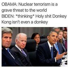 Nukes vs donkey kong