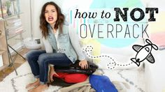 Pack less and get more out of your trip! It may be creepy, but I want to see what's in YOUR suitcase! Tweet me! http://www.twitter.com/heyingridnilsen Or tag...