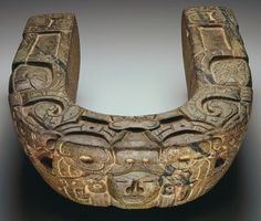 Carved stone yoke of the Totonac culture, Mesoamerican, c. 600-900 http://www.artsconnected.org/resource/3090/yoke