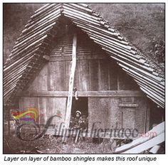In the rugged landscape of the Cordillera, Apayao is the only region that has a navigable river, the Apayao, after which the region is named. Filipino Architecture, Philippine Architecture, Vernacular Architecture, Mountain Homes, Home Staging, Asian Style, Philippines, Cabin, Lights