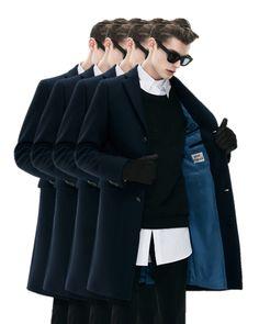 ACNEGarret Dark Navy Jacket [edit]