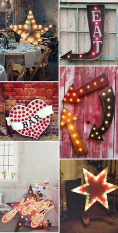 Love in Lights - Marquee Letters & Wedding Signs