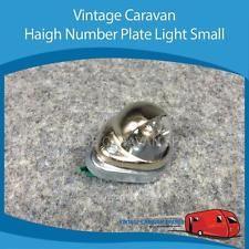 Caravan Haigh Number Plate Light Small Vintage Viscount, Franklin, Millard