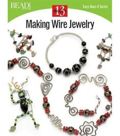 Book contains 112 pages (32 in color), 300 illustrations This book is a paperback book Measures: 8 1/2 x 10 The secrets of the timeless art of wire jewelry making can be yours with this inspiring intr