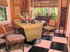African Style Decorating interior design furniture