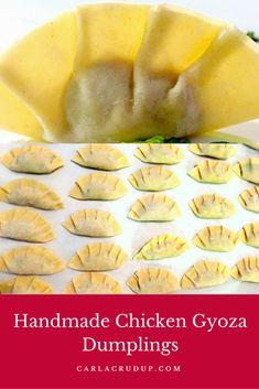 Handmade Chicken Gyoza Dumplings