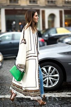 Love this cream wool maxi coat