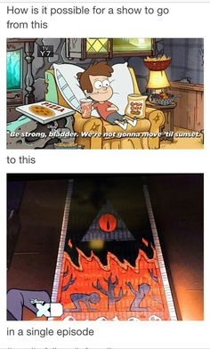 That's Gravity Falls for ya! (God I miss that show) Disney Xd, Disney Pixar, Dipper Y Mabel, Desenhos Gravity Falls, Gavity Falls, Memes Estúpidos, Reverse Falls, Billdip, Kids Shows