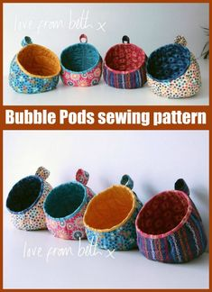 Small Sewing Projects, Sewing Hacks, Sewing Tutorials, Sewing Crafts, Bag Tutorials, Fabric Storage Baskets, Sewing Baskets, Fabric Basket, Fabric Boxes