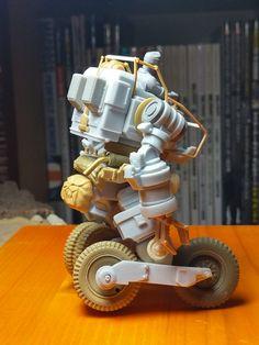 Embedded Mars, Sci Fi Models, Lego Mecha, Hobby Toys, Space Wolves, Gundam Model, Designer Toys, Old Toys, Dieselpunk