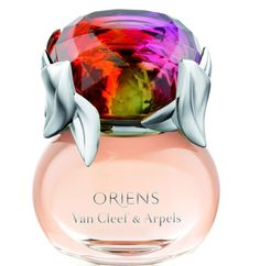 """""""Oriens"""" by Van Cleef & Arpels    A Chypre Floral fragrance with top notes: mandarin orange, black currant and raspberry; middle note is jasmine; base notes are patchouli and praline"""