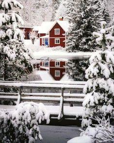 Winter Szenen, Winter Love, Winter Magic, Beautiful World, Beautiful Places, Snow Lake, Snowy Day, Snow Scenes, Christmas Scenes