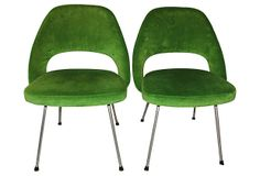 Saarinen Executive Side Chairs, Pair on OneKingsLane.com