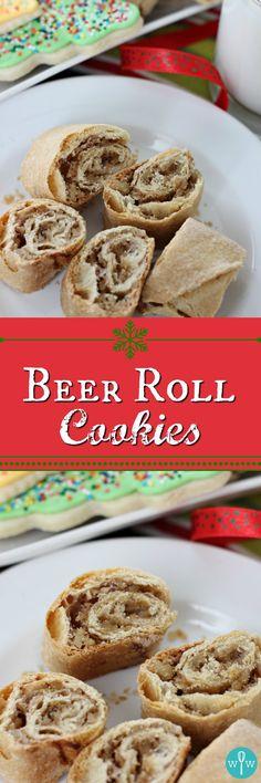 Beer Roll Cookies –