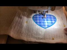 Brother SE425/SE400 Embroidery Machine - 2017 - Basic Applique with the Designs on the Machine - YouTube