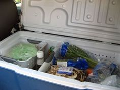 How to Use an Ice Box or Cooler for Food Storage