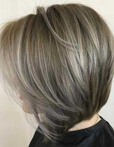 Really Stylish Bob Haircuts for Women Over 50