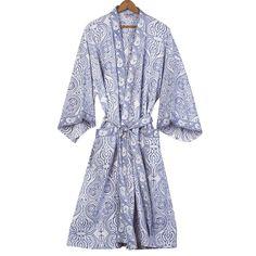 $59: Paisley Cotton Robe