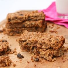 Homemade and totally healthy granola bars – lose the sugar and artificial ingredients!