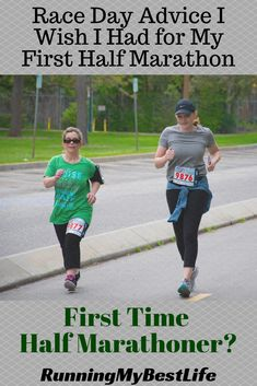 These race day tips will help you prepare for a positive, fun, and rewarding experience for your first half marathon. #firsthalfmarathon #racedaytips #halfmarathontips