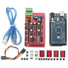 RAMPS 1.4 + Mega2560 R3+ A4988 Optical Endstop 3D Printer Kit