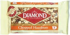 Diamond of California, Chopped Hazelnuts, Non GMO, No Added Salt, 8 oz. (Pack of Fitness Nutrition, Diet And Nutrition, Pinterest Marketing, Gourmet Recipes, Fitness Motivation, Packing, Amazon, Learning, Diamond