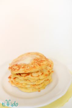 Polenta and cheese pancakes. Mniam!