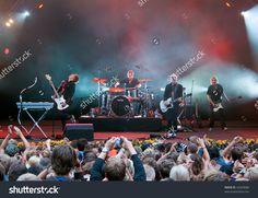 Skanderborg, Denmark - August 9: Danish Electronical Rock Band Carpark North At Denmark'S Most Beautiful Festival (Smukfest 2008) On August 9, 2008 In Skanderborg Denmark. Stock Photo 42629686 : Shutterstock