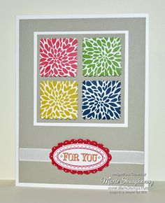 Stamping Inspiration: CAS FRIDAY, Busting Out the New In Colors!...