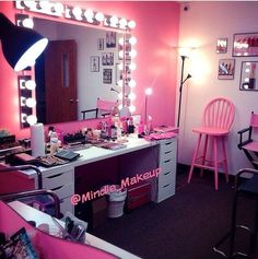 Beautiful filming set up