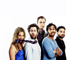 The Big Bang Theory cast is awesome.