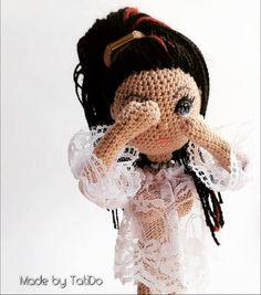Стесняшка😊 Very modest... #amigurumidoll #amigurumi #weamiguru #crochetdoll #амигурумикукла #каркаснаякуклакрючком #амигуруми