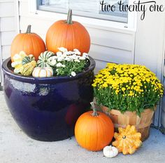 Fall Decorating Craft Ideas | 10 Fall Decorating Ideas | Positively Splendid {Crafts, Sewing ...